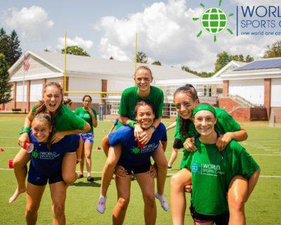 Sports camp con jovenes americanos en estados unidos